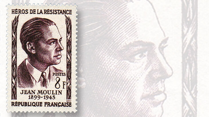 France World War II Resistance stamps