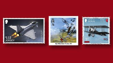 jersey-guernsey-isle-man-royal-air-force-stamps