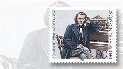 johannes-brahms-germany-commemorative-stamp