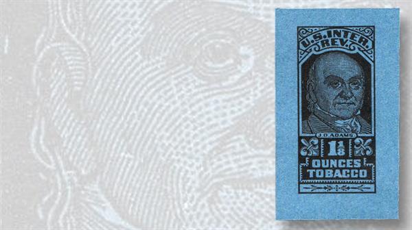 john-quincy-adams-tobacco-revenue-stamp