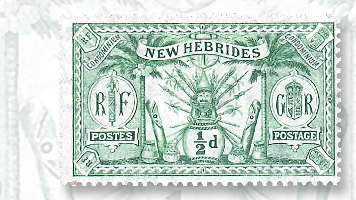 joint-language-wording-native-idols-new-hebrides-stamp