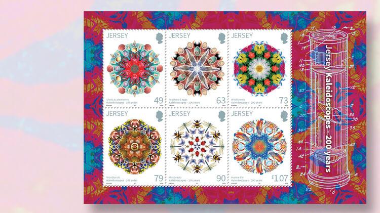 kaleidoscope-patent-bicentennial-jersey-souvenir-sheet