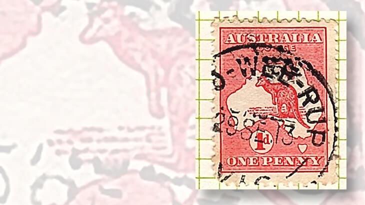 kangaroo-and-map-stamp-interesting-postmark