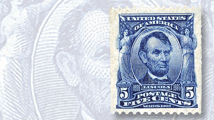 kelleher-five-cent-lincoln-coil-stamp