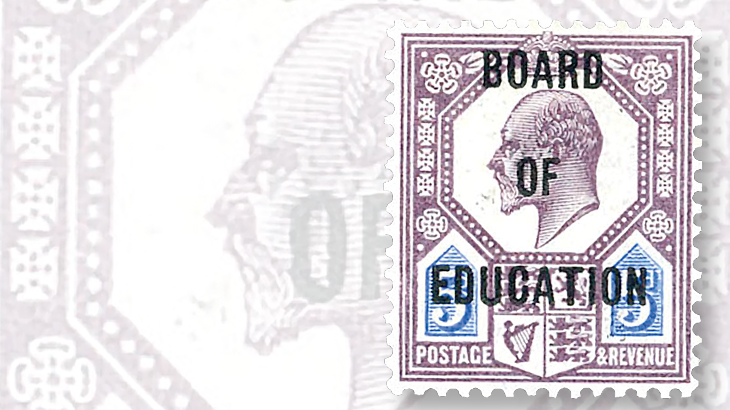 king-edward-five-penny-stamp