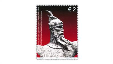 kosovo-united-nations-2008-skanderbeg-stamp