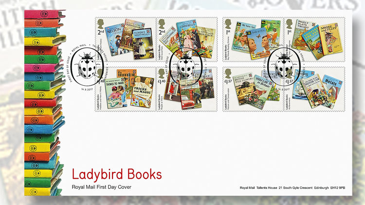 ladybird-books-first-day-cover
