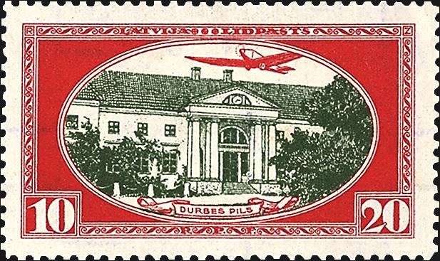 latvia-airmail-semipostal-stamp-1930