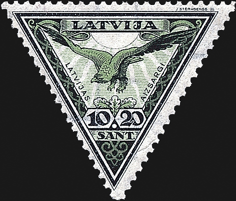 latvia-airmail-semipostal-stamp-latvian-home-guards-1932