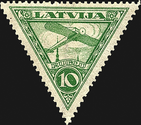 latvia-first-airmail-stamp-1920