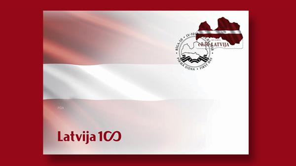 latvia-map-shaped-stamp