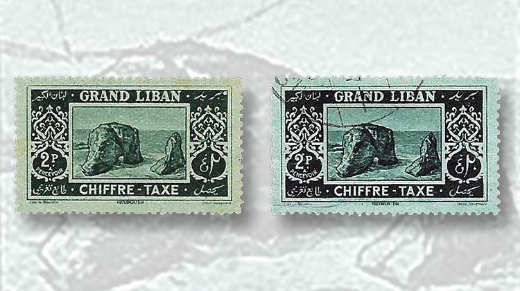 lebanon-2-piaster-postage-due-stamp