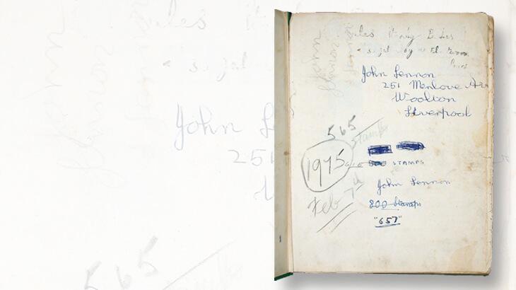 lennon-signed-stamp-album-flyleaf-2