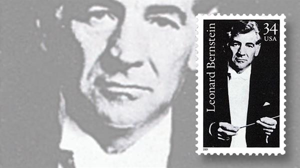 leonard-bernstein-commemorative-stamp