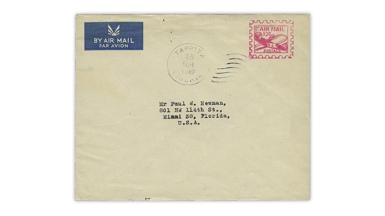 Liberia-1949-dc-4-skymaster-aerogram