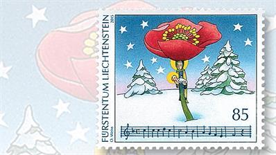 liechtenstein-christmas-stamp