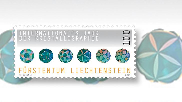 liechtenstein-crystallography-stamp-asiago-stamp-art-award