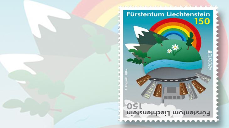 liechtenstein-europa-earth-divided-stamp