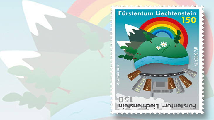 liechtenstein-europa-earth-divided-stamp