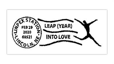 lincoln-nebraska-stamp-club-2020-leap-day-postmark
