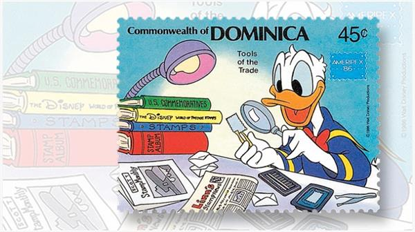 linns-stamp-news-dominica-stamp-1986-ameripex-stamp-show