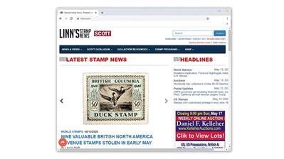 linns-stamp-news-website-home-page