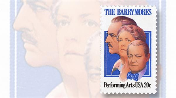 lionel-barrymore-performing-arts-stamp