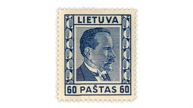 lithuania-1937-president-antanas-smetona-stamp