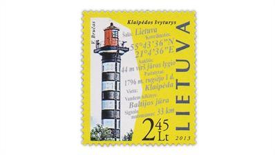 lithuania-2013-klaipeda-lighthouse-stamp
