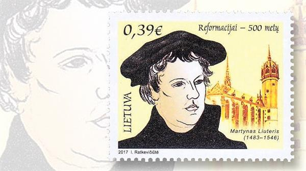 lithuania-protestant-reformation-stamp