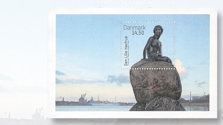 little-mermaid-sculpture-stamp