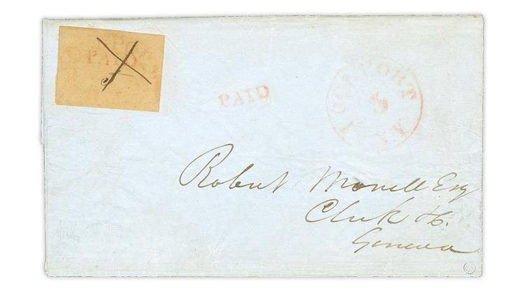 lockport-new-york-1846-postmaster-provisional-cover