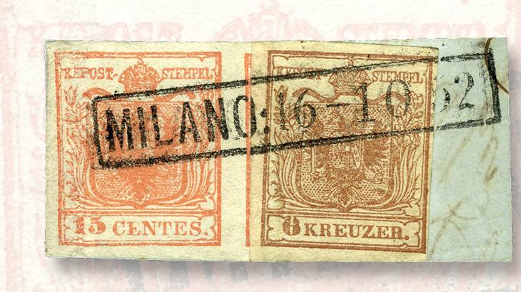 lombardy-venetia-15-centesimo-and-austria-6-kreuzer-brown