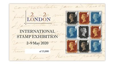 london-2020-penny-black-two-penny-blue-penny-red-souvenir-sheet