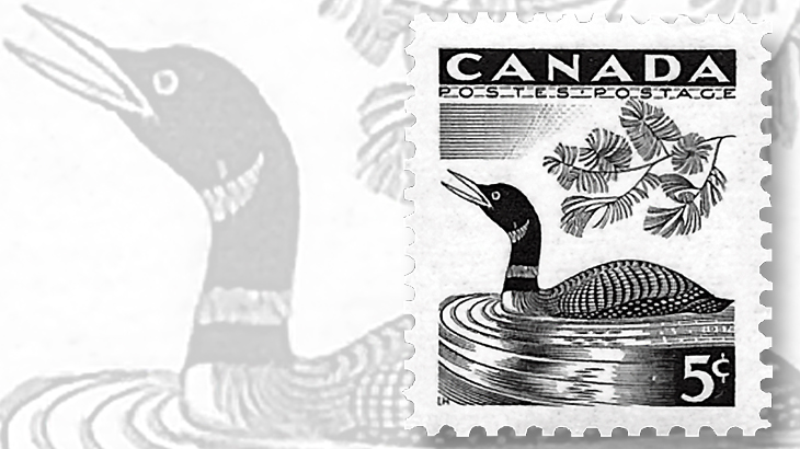 loon-canadian-stamp