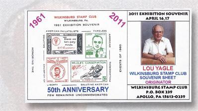 lou-yagle-wilkinsburg-stamp-club-2011-souvenir-sheet