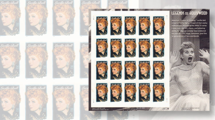 lucille-ball-legends-of-hollywood-stamp-error-pane