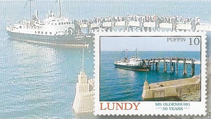 lundy-ms-oldenburg-stamp-2008