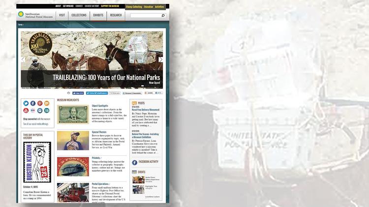 main-menu-of-the-national-postal-museums-website