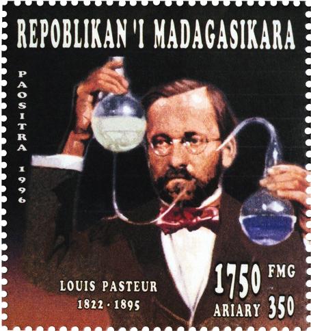 malagasy-republic-louis-pasteur-stamp-1996