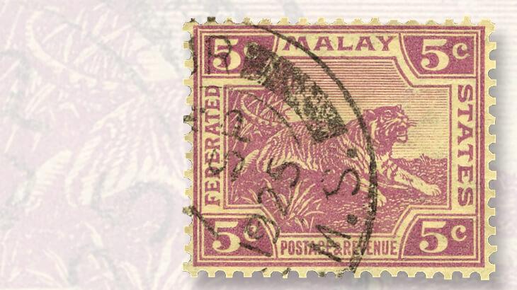 malayan-tiger-stamp-yellow-paper