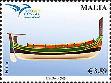 malta-euromed-ferilla-boat-stamp-2015