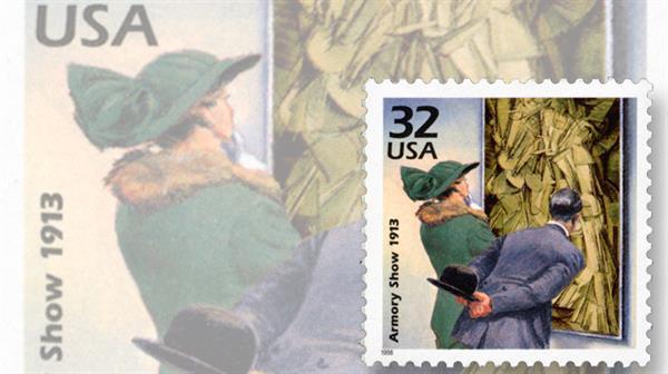 marcel-duchamp-artist-amory-show-stamp