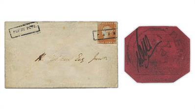 mauritius-1847-ball-cover-british-guiana-1856-magenta-stamp