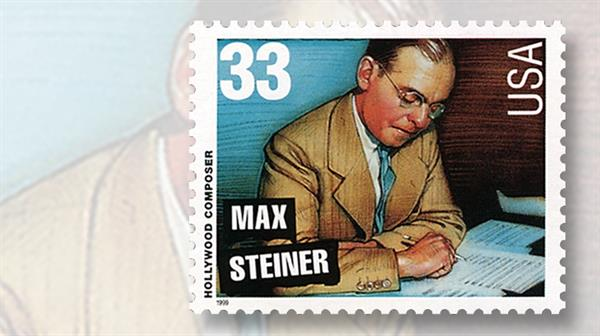 max-steiner-hollywood-composers-stamp