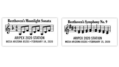 mesa-arizona-beethoven-moonlight-sonata-ninth-symphony-pictorial-postmarks