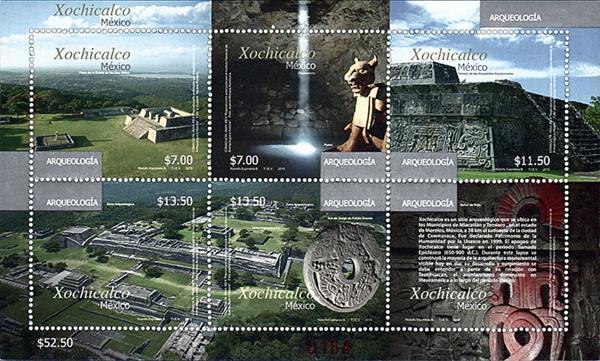 mexico-archaeology-2015-souvenir-sheet