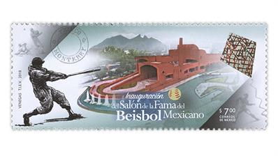 mexico-baseball-hall-of-fame-2018-postage-stamp
