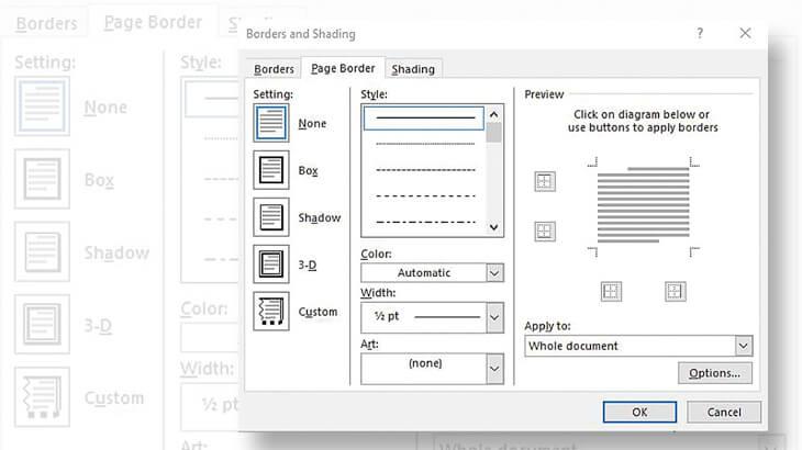 microsoft-word-stamp-albums-dialog-box-borders