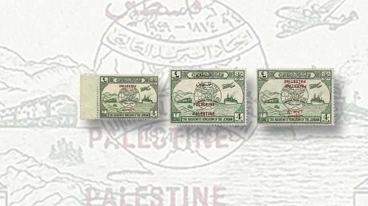middle-east-stamps-jordan-upu-palestine-overprint-errors-4-mil-stamp
